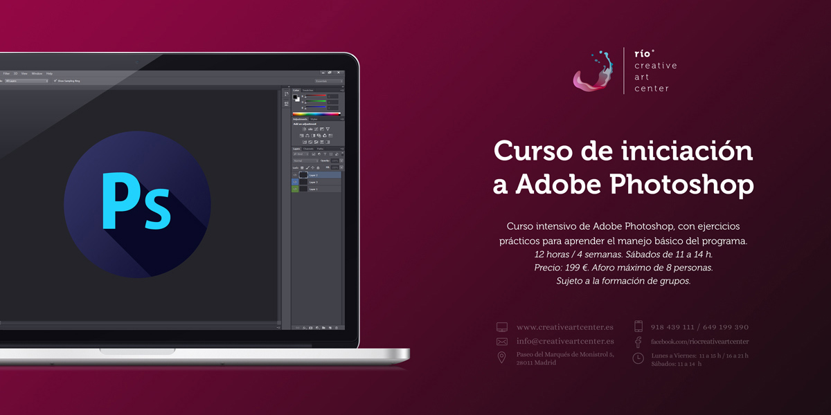 curso intensivo de Adobe Photoshop